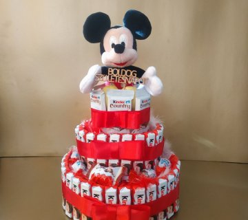 Kinder torta Mickey egérrel